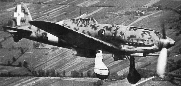 Истребитель Macchi MC.202 Folgore