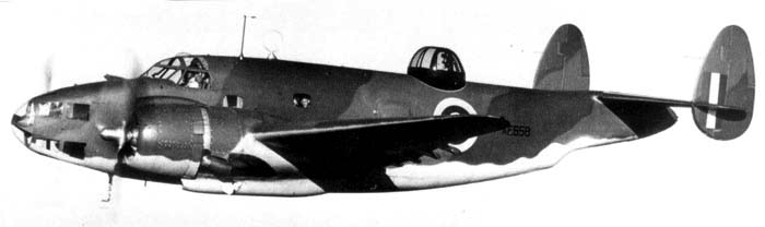 Морской ударный самолет Lockheed - Ventura Mk.I