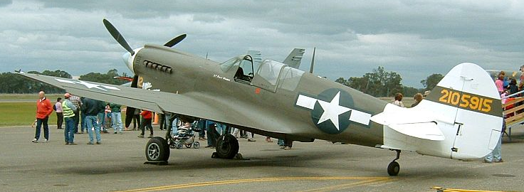 Истребитель Curtiss P-40 Warhawk/ Tomahawk/ Kittyhawk