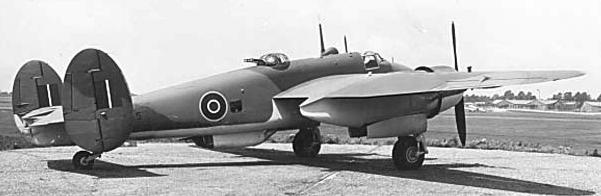 Бомбардировщик Bristol Buckingham