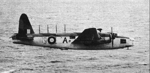 Противолодочный самолет Vickers Wellington GR.Mk-VIII