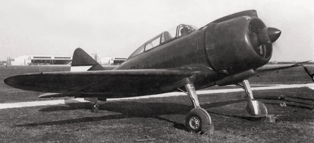 Истребитель Reggiane Re.2000 Falco