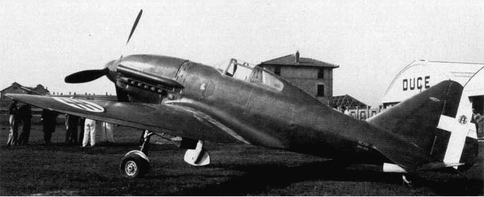 Истребитель Reggiane Re.2001 Ariete (Falco II)