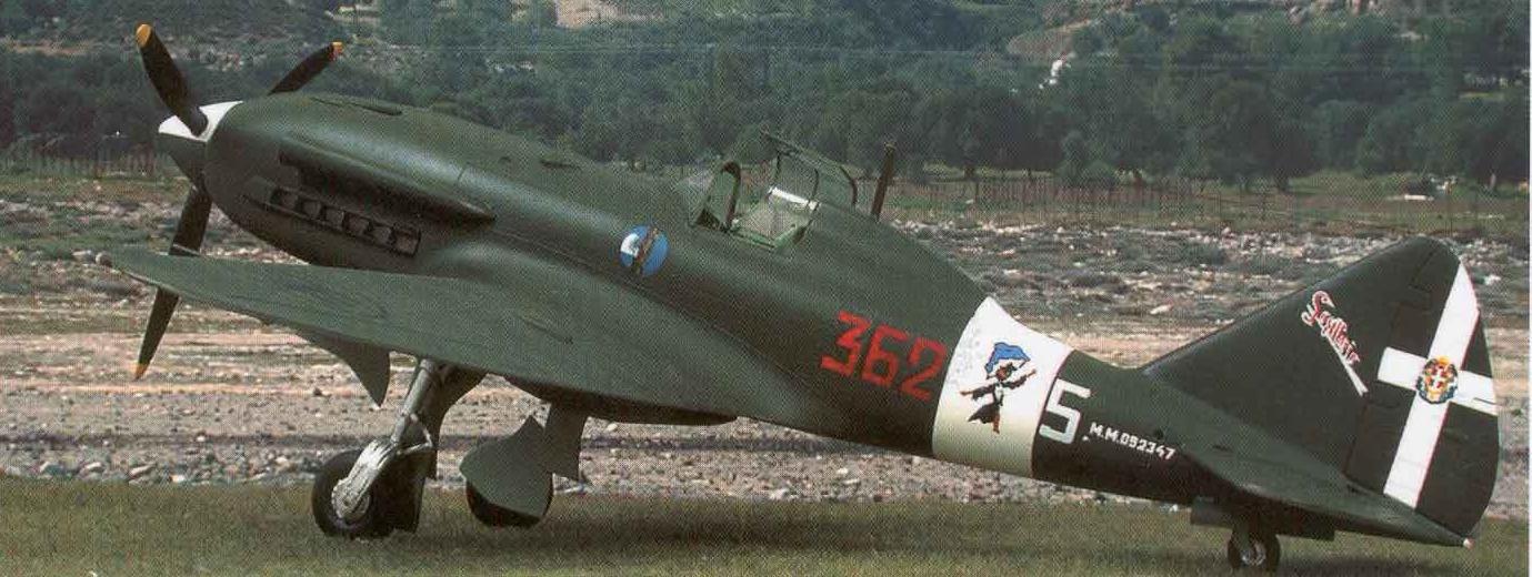 Истребитель Reggiane Re.2005 Sagittario