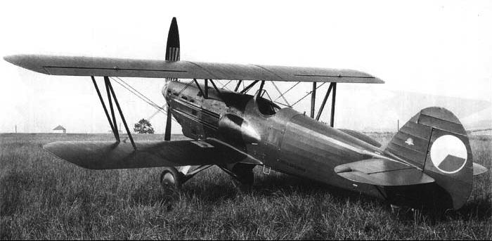Истребитель Avia B-534