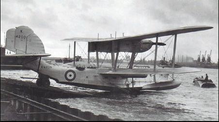 Летающая лодка-амфибия Supermarine Scapa