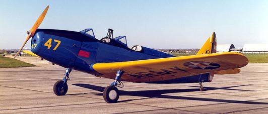 Учебно-тренировочный самолет Fairchild PT-19