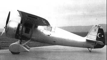 Истребитель PZL Р-24