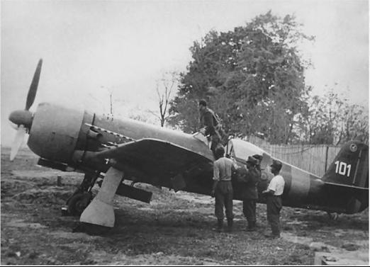 Истребитель IAR-80С