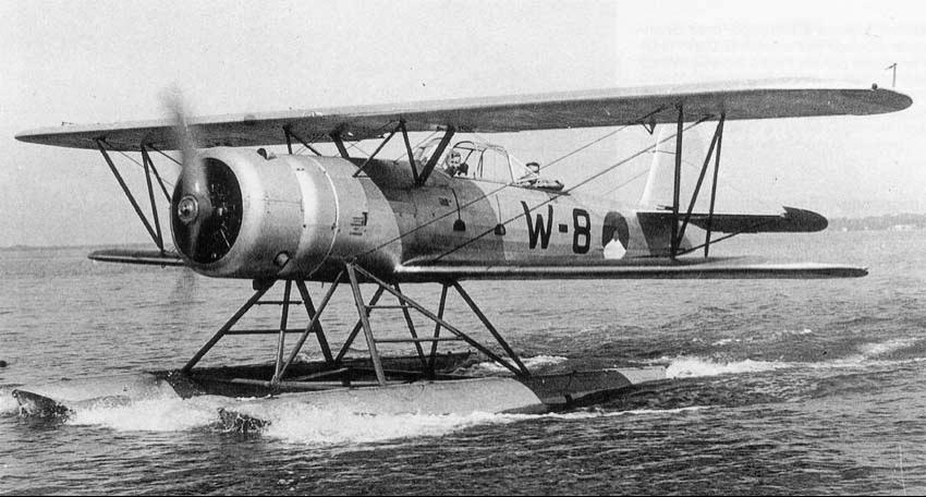 Гидросамолет Fokker C.XI-W