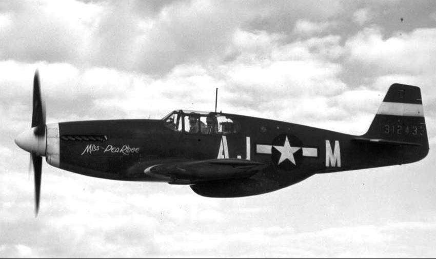 Истребитель North American Mustang P-51А