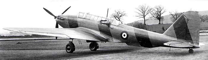 Бомбардировщик Fairey Battle