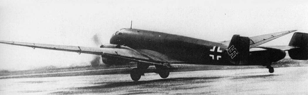 Высотный разведчик Junkers Ju-86R-1