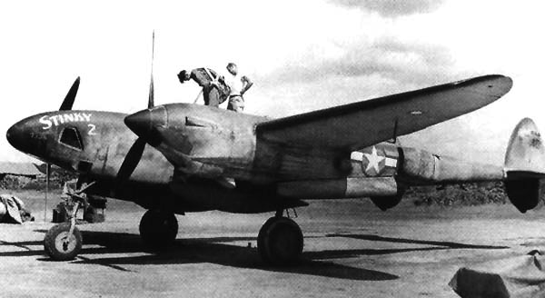 Разведчик  Lockheed F-5A
