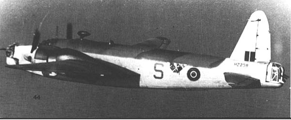 Противолодочный самолет Vickers Wellington - GR.Mk-XI