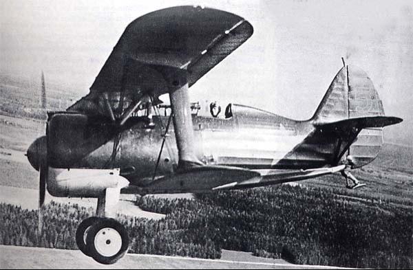 Истребитель И-15-бис (И-152)