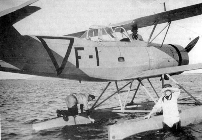Гидросамолет Fokker C.XIV-W