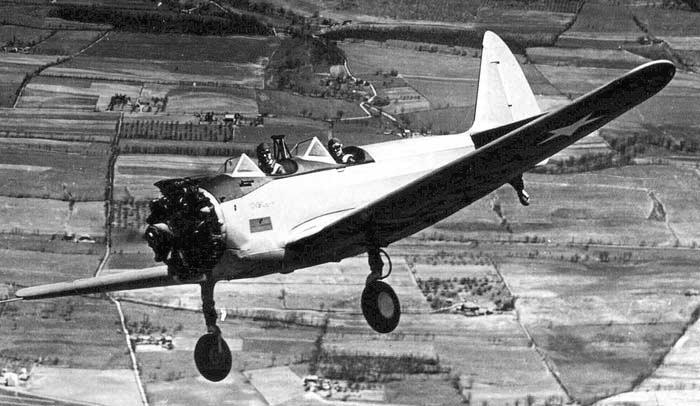 Учебно-тренировочный самолет Fairchild PT-23