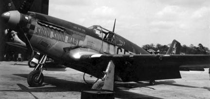 Истребитель North American Mustang Р-51В