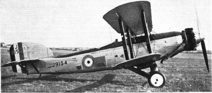 Бомбардировщик Fairey Gordon