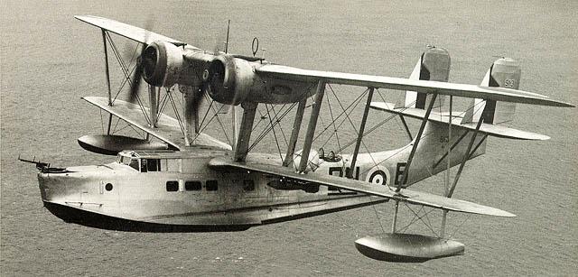 Летающая лодка Supermarine Stranraer