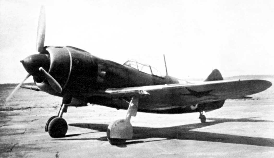 Истребитель Ла-5 (ЛаГГ-5)