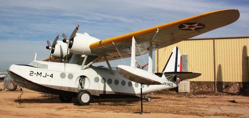 Летающая лодка-амфибия Sikorsky S-43 (JRS-1) Baby Clipper