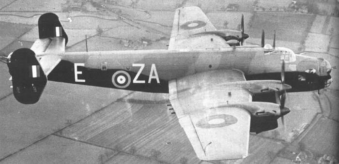 Бомбардировщик Handley Halifax – Mk-I