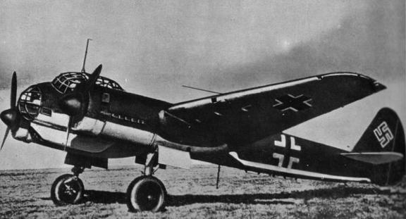 Дальний разведчик Junkers Ju-88А