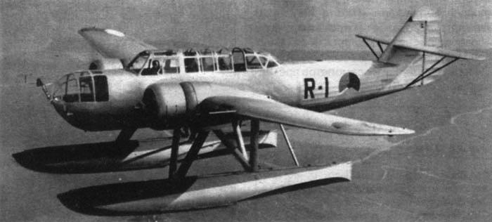 Гидросамолет Fokker T.VIII-W