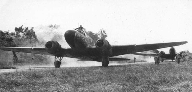 Транспортный самолет Mitsubishi Ki-57