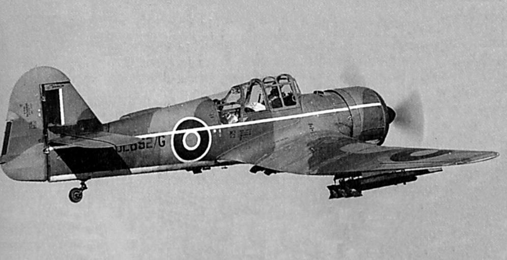 Учебно-тренировочный самолет Miles M.27 Master Mk-III
