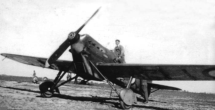 Истребитель Dewoitine D.501
