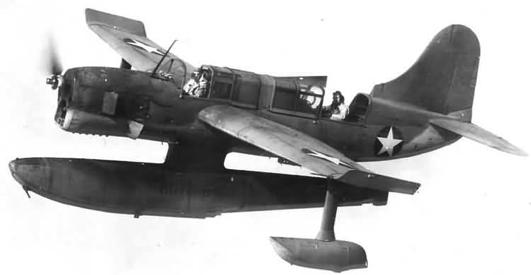 Гидросамолет Curtiss SO3C Seamew
