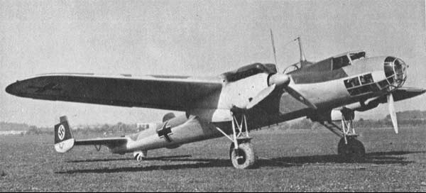 Разведчик Dornier Do-17 F-1