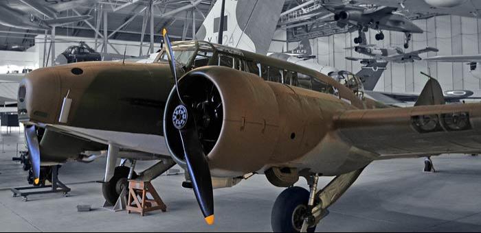 Патрульный самолет Avro Anson Mk-I