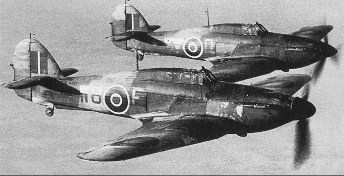 Палубный истребитель Hawker Sea Hurricane - Mk 1А