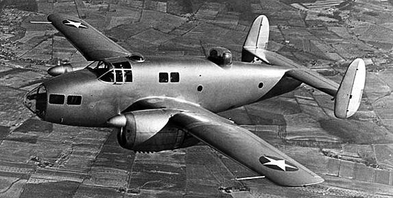 Учебно-тренировочный самолет Fairchild AT-21 Gunner