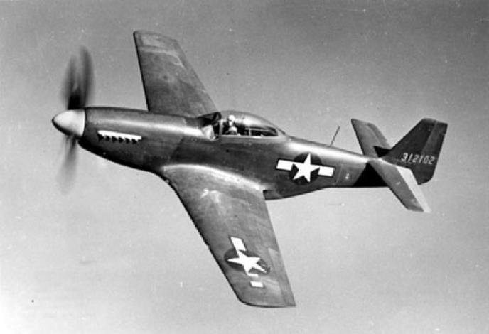 Истребитель North American Mustang P-51D