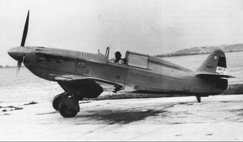 Истребитель Ikarus IK-3