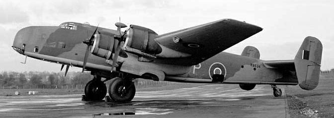 Бомбардировщик Handley Halifax Mk-III