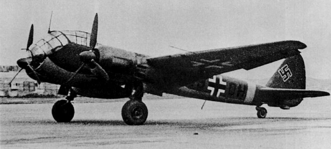 Дальний разведчик Junkers Ju-88B