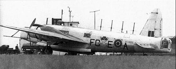 Противолодочный самолет Vickers Wellington GR.Mk-XIV