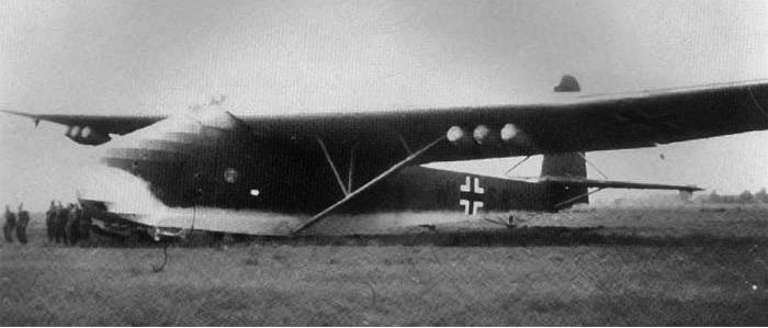 Планер серии Me-321 Gigant