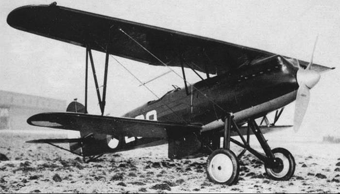 Истребитель Fokker D.XVII