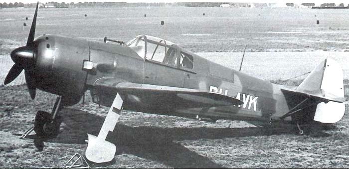 Истребитель Koolhoven FK58
