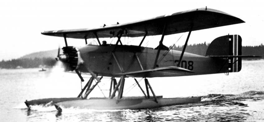 Гидросамолет Marinens Flyvebaatfabrikk MF-11