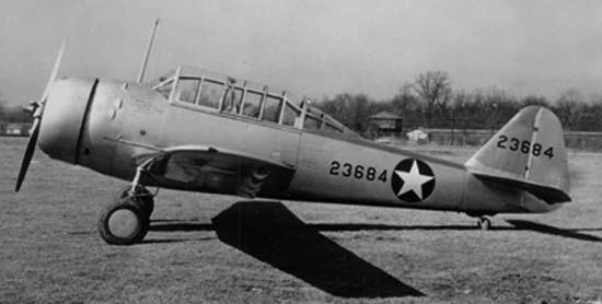 Учебно-тренировочный самолет Fleetwings BT-12