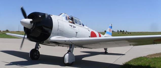 Учебно-тренировочный самолет Mitsubishi A-6M2-K