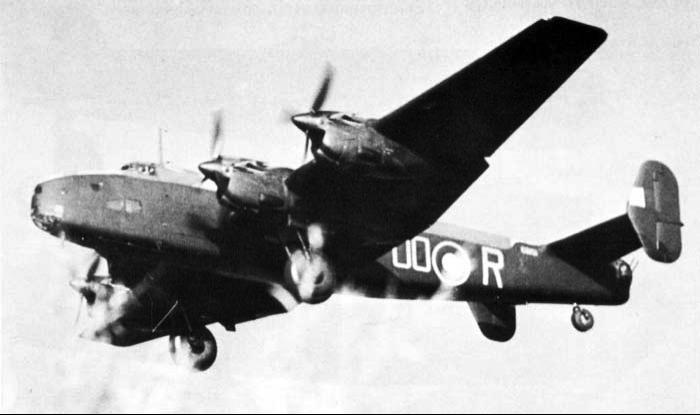 Бомбардировщик Handley Halifax Mk-V